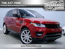 2016_Land Rover_Range Rover Sport V8 Dynamic SC_1 Owner Warranty Black Roof Factory 22 Loaded MSRP $91,615_ Hickory Hills IL