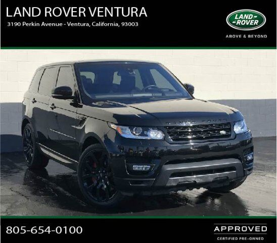 2015 Land Rover Range Rover Sport Supercharged Ventura Ca: 2016 Land Rover Range Rover Sport V8 Dynamic Ventura CA