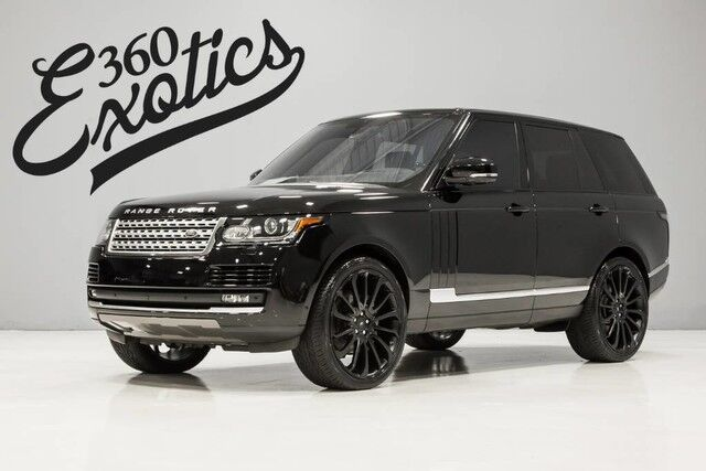 2016 Land Rover Range Rover Supercharged Austin TX