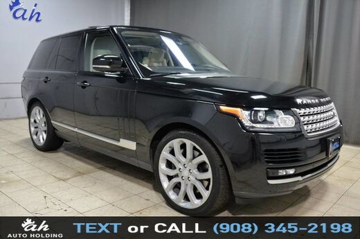 2016 Land Rover Range Rover Supercharged Hillside NJ