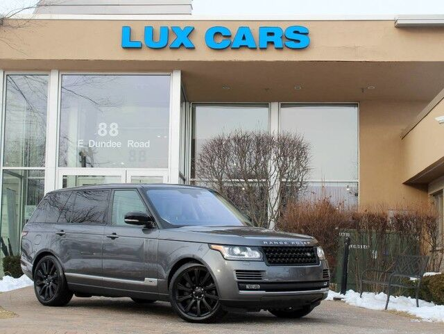 2016 Land Rover Range Rover Supercharged Long Panoroof Nav 4WD MSRP $114,086 Buffalo Grove IL