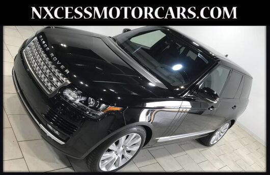 2016 Land Rover Range Rover Supercharged V8 PANO ROOF 1 OWNER Houston TX