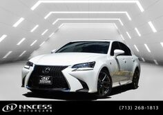 Lexus GS 350 1 Owner Clean Carfax F Sport Package 2016