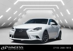 Lexus IS 200t F-Sport Navigation Clean Carfax Warranty. 2016