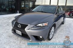 2016_Lexus_IS 300_AWD / Automatic / Heated Leather Seats / Sunroof / Keyless Entry & Start / Bluetooth / Back Up Camera / 26 MPG_ Anchorage AK