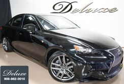 Lexus IS 300 AWD Sedan, F Sport Package, Navigation System, Rear-View Camera, Rioja Red F Sport Leather Interior, Power Sunroof, Sport Suspension, 18-Inch F Sport Alloy Wheels, 2016