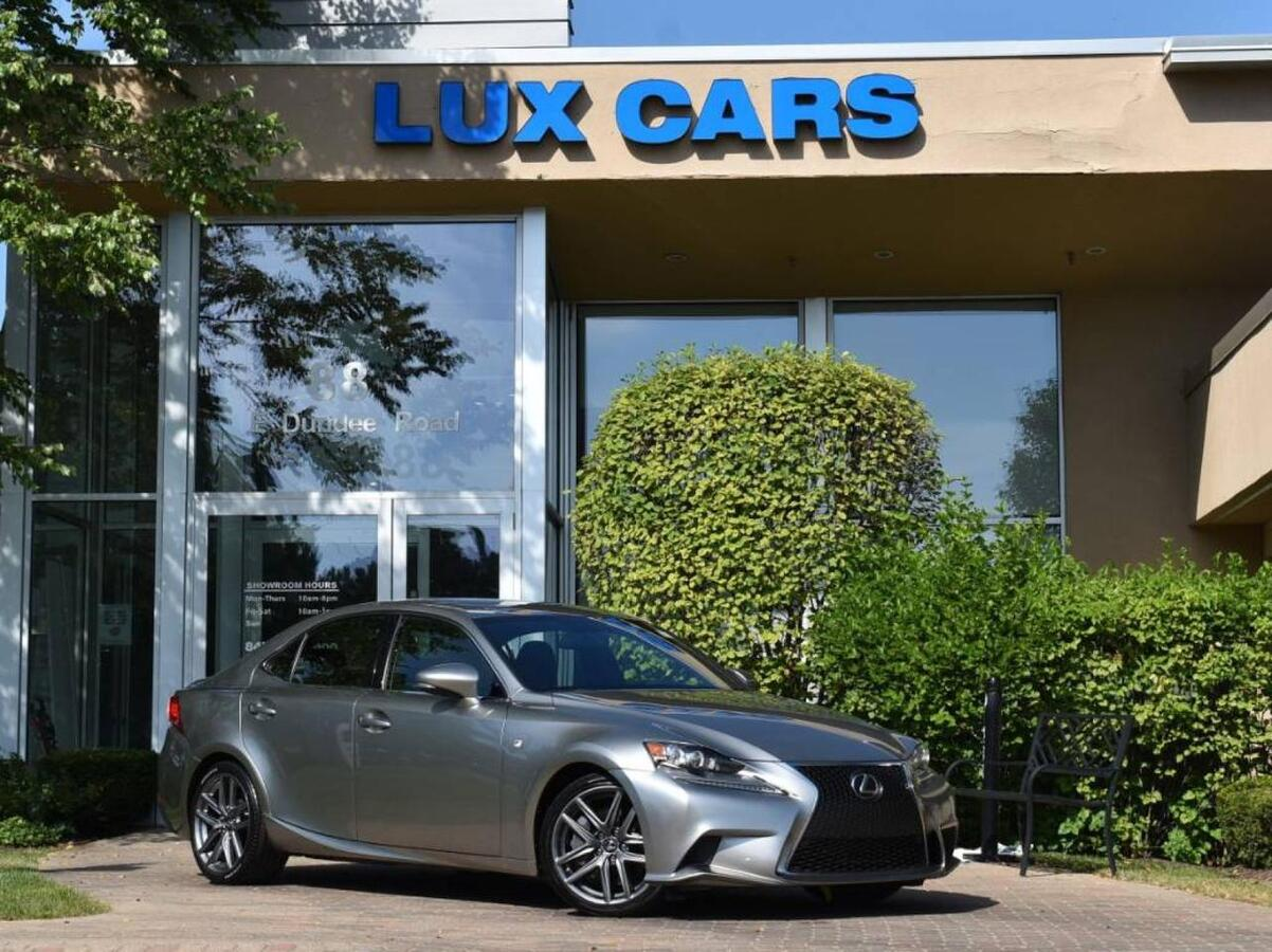 2016_Lexus_IS 300_F-SPORT NAV AWD MSRP $46,840_ Buffalo Grove IL