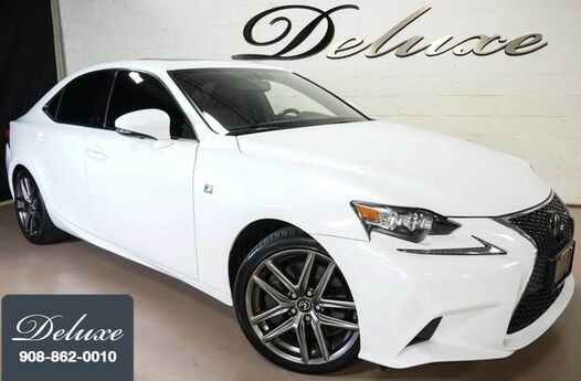 2016 Lexus IS 350 AWD Sedan, F Sport Package, Navigation System, Rear-View Camera, Rioja Red F Sport Leather Interior, Heated/Ventilated Sport Seats, Power Sunroof, Sport Suspension, 18-Inch F Sport Alloy Wheels, Linden NJ
