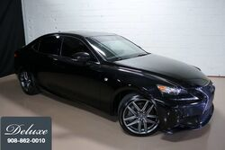 Lexus IS 350 AWD Sedan, F Sport Package, Navigation System, Rear-View Camera, Rioja Red F Sport Leather Interior, Heated/Ventilated Sport Seats, Power Sunroof, Sport Suspension, 18-Inch F Sport Alloy Wheels, 2016