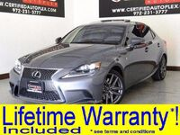 Lexus IS 350 F SPORT PKG LANE CHANGE ASSIST BLIND SPOT MONITOR CONVENIENCE PKG 2016