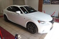 Lexus IS IS350 F SPORT, ROOF,NAVIGATION WITH RED ROSSO INTERIOR 2016