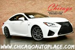 2016_Lexus_RC F_COUPE - 5.0L V8 VVT-le ENGINE RED LEATHER F-SPORT SEATS HEATED/COOLED SEATS NAVIGATION BACKUP CAMERA KEYLESS GO HEATED STEERING WHEEL_ Bensenville IL