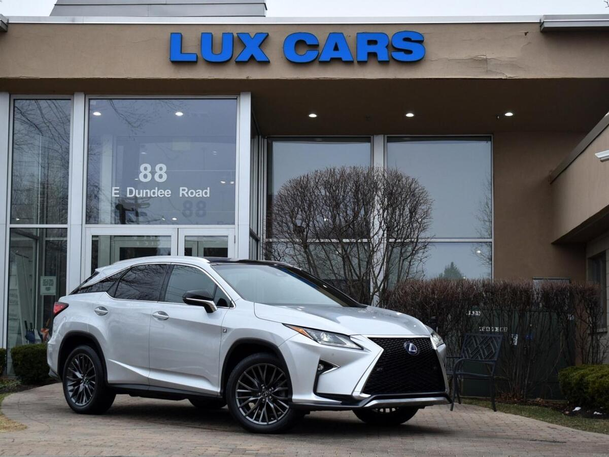 2016_Lexus_RX 450h_F Sport Panoroof Nav AWD MSRP $59,230_ Buffalo Grove IL