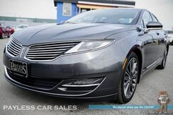 2016_Lincoln_MKZ_AWD / Heated & Ventilated Leather Seats / Heated Steering Wheel / Panoramic Sunroof / Touchscreen Navigation / Auto Start / Blind Spot Assist / Microsoft Sync Bluetooth / Back Up Camera / 31 MPG / 1-Owner_ Anchorage AK