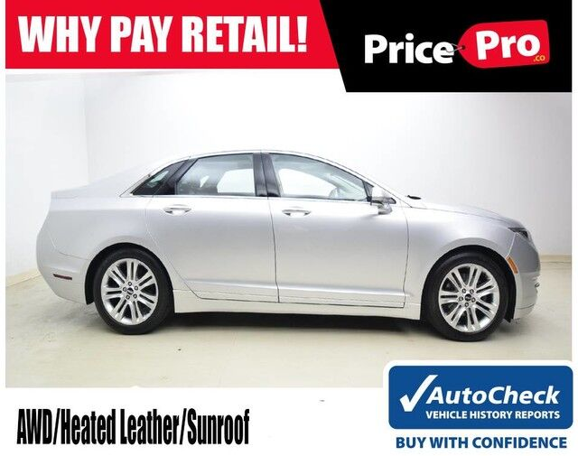 2016 Lincoln MKZ AWD w/Sunroof Maumee OH