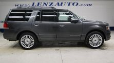 Lincoln Navigator 4WD Select: 3.5L ECOBOOST-NAV-MOON-TV-DVD-QUADS-THIRD-REVERSE CAMERA-THX-LEATHER-CD PLAYER-4WD 2016