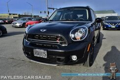 2016_MINI_Cooper Countryman_S / ALL4 AWD / Steptronic Automatic / Heated Leather Seats / Bluetooth / USB & AUX Jacks / Xenon HID Headlights / Keyless Start / 17in Black Alloy Wheels / Rear Spoiler / 31 MPG/ Only 14K Miles / 1-Owner_ Anchorage AK