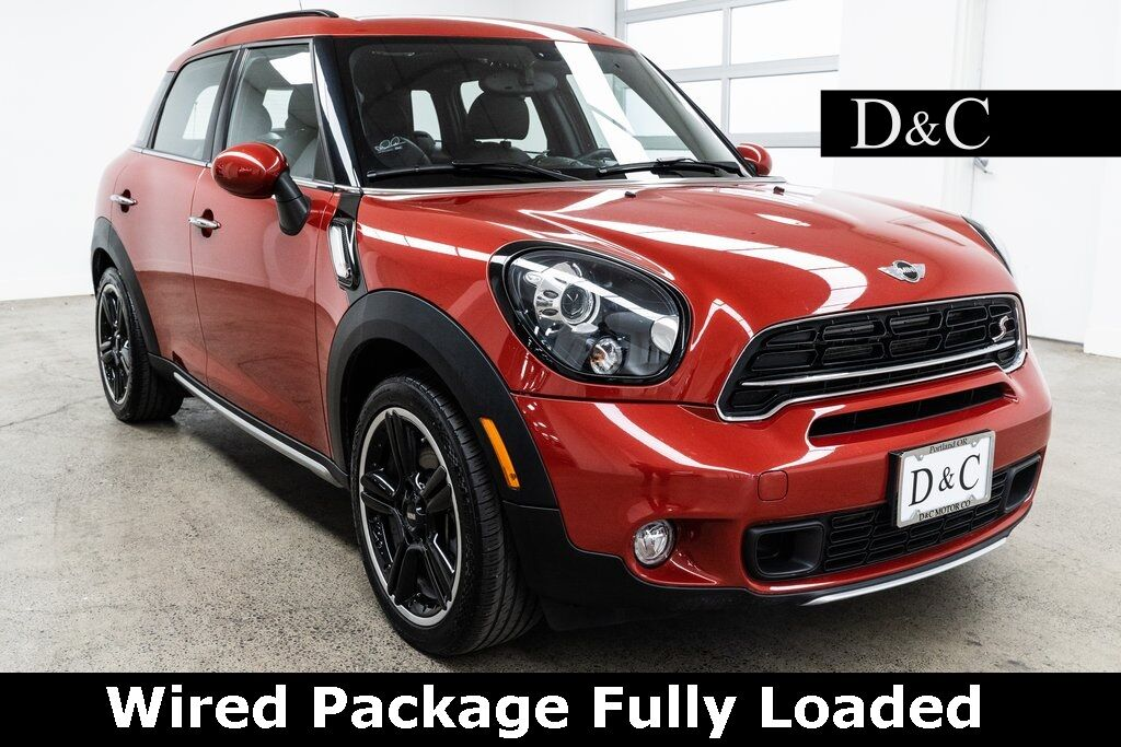 Mini Cooper Portland >> 2016 Mini Cooper S Countryman Wired Package Fully Loaded