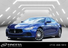 Maserati Ghibli S One Owner Clean Carfax Factory Warranty. 2016