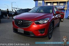2016_Mazda_CX-5_Grand Touring / AWD / i-ACTIVSENSE Pkg / Tech Pkg / Power & Heated Leather Seats / Sunroof / Bose Speakers / Navigation / Active Cruise / Blind Spot, Collision & Lane Departure Alert / Bluetooth / Back Up Camera / 1-Owner_ Anchorage AK