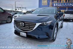 2016_Mazda_CX-9_Touring / AWD / Power & Heated Leather Seats / Navigation / Sunroof / Bose Speakers / Auto Start / Blind Spot Alert / 3rd Row / Seats 7 / Bluetooth / Back Up Camera / Power Liftgate / Keyless Start / 1-Owner_ Anchorage AK