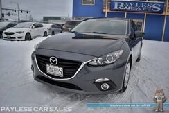 2016_Mazda_Mazda3_i Sport / 6-Spd Manual / Push Button Start / Bluetooth / Back Up Camera / Cruise Control / Only 2k Miles / 41 MPG_ Anchorage AK