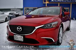 2016_Mazda_Mazda6_i Touring / Automatic / Power & Heated Leather Seats / Bose Speakers / Sunroof / Blind Spot Alert / Bluetooth / Back Up Camera / Keyless Entry & Start / 38 MPG / Only 9K Miles / 1-Owner_ Anchorage AK