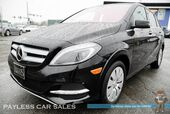 2016 Mercedes-Benz B250e Electric / Power & Heated Leather Seats / Navigation / Harman Kardon Speakers / Blind Spot Assist / Bluetooth / Back Up Camera / Keyless Entry & Start / HID Headlights / Only 12k miles / 87 Miles per Charge / 1-Owner
