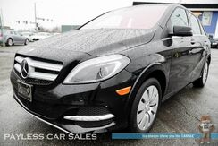 2016_Mercedes-Benz_B250e_Electric / Power & Heated Leather Seats / Navigation / Harman Kardon Speakers / Bluetooth / Back Up Camera / Only 12k miles / 87 Miles per Charge / 1-Owner_ Anchorage AK