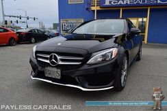 2016_Mercedes-Benz_C 300_Sport Pkg / 4Matic AWD / Power & Heated Leather Seats / Dual Sunroof / Burmester Speakers / Blind Spot Alert / Bluetooth / Back Up Camera / LED Headlights / AMG Wheels / 1-Owner_ Anchorage AK