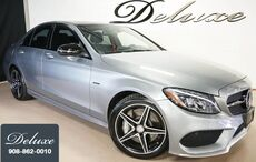 2016_Mercedes-Benz_C 450 AMG_4MATIC Sedan, Navigation System, Rear-View Camera, Burmester Surround Sound, Bluetooth Streaming Audio, Heated Leather Seats, Panorama Sunroof, AMG Sport Exhaust, 18-Inch AMG Alloy Wheels,_ Linden NJ