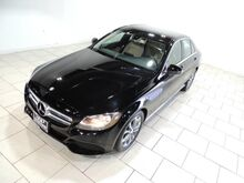 2016_Mercedes-Benz_C-CLASS_C 300 BLACK ON TAN REAR VIEW CAM KEYLESS ENTRY_ Houston TX