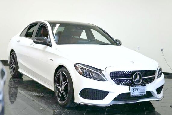 2016_Mercedes-Benz_C-Class_4dr Sdn C 450 AMG 4MATIC, Factory Warranty, 1 Owner, Clean Carfax, Premium 2 Package, Panorama Sunroof, Driver Assistance, Multimedia Package w/ Rear View Camera, Interior Package,_ Leonia NJ
