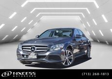 2016_Mercedes-Benz_C-Class_C 300 4Matic Panorama Roof Blind Spot Heated Seat Backup Camera._ Houston TX