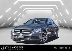 Mercedes-Benz C-Class C 300 4Matic Panorama Roof Blind Spot Heated Seat Backup Camera. 2016