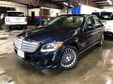 2016_Mercedes-Benz_C-Class_C 300 Luxury_ Worcester MA