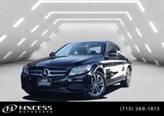 2016_Mercedes-Benz_C-Class_C 300 Panorama Roof Blind Spot Assist Backup Camera Heated Seats._ Houston TX