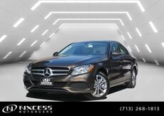 2016_Mercedes-Benz_C-Class_C 300 Panorama Roof Heated Seats Backup Camera._ Houston TX