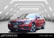 2016_Mercedes-Benz_C-Class_C 300 Panorama backup Camera Blind Spot Heated Seat._ Houston TX