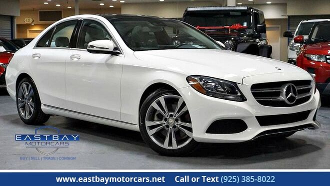 2016_Mercedes-Benz_C-Class_C 300 Sport ** Panorama Sunroof_ San Ramon CA