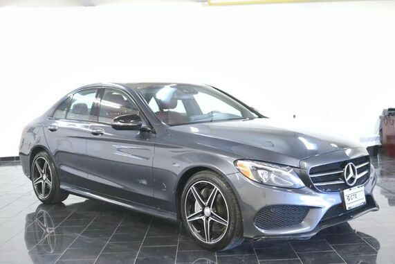 2016_Mercedes-Benz_C-Class_C 300 Sport, 1 Owner, Clean Carfax, Premium 1 Package, Driver Assistance Package, Keyless Go, Panorama Sunroof, Multimedia, Interior, Navigation, Camera,_ Leonia NJ