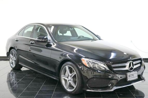 2016_Mercedes-Benz_C-Class_C 300 Sport, Factory Warranty, 1 Owner, Clean Carfax, Navigation System, Rear View Camera, Keyless Go, Panorama Sunroof, Blind Spot Assist,_ Leonia NJ