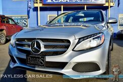 2016_Mercedes-Benz_C300_4Matic AWD / Sport Package / 2.0L Turbocharged / Power & Heated Leather Seats / Navigation / Panoramic Sunroof / Burmester Speakers / Back-Up Camera / Bluetooth / Low Miles / 1-Owner_ Anchorage AK