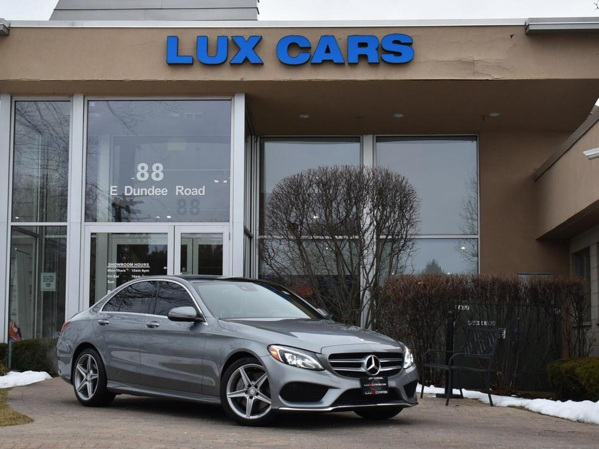 2016_Mercedes-Benz_C300_Sport Panoroof Nav P2 4MATIC MSRP $53,905_ Buffalo Grove IL