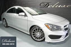 Mercedes-Benz CLA 250 4MATIC, Sport Package, Premium Package, Navigation System, Rear-View Camera, Harman Kardon Surround Sound, Heated Leather Seats, Panorama Sunroof, 18-Inch AMG Alloy Wheels, 2016