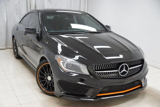 2016 Mercedes Benz Cla Class Cla250 Orange Edition Navigation Sunroof Backup Camera 1 Owner