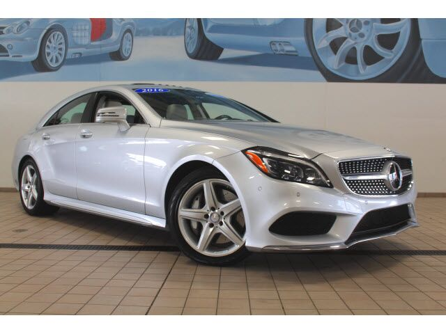 2016 Mercedes Benz Cls 550 4matic Coupe