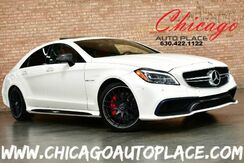 2016_Mercedes-Benz_CLS_63 S AMG - 5.5L BI-TURBO V8 ENGINE ALL WHEEL DRIVE RED LEATHER HEATED/COOLED SEATS NAVIGATION TOP VIEW CAMERAS KEYLESS GO SUNROOF_ Bensenville IL