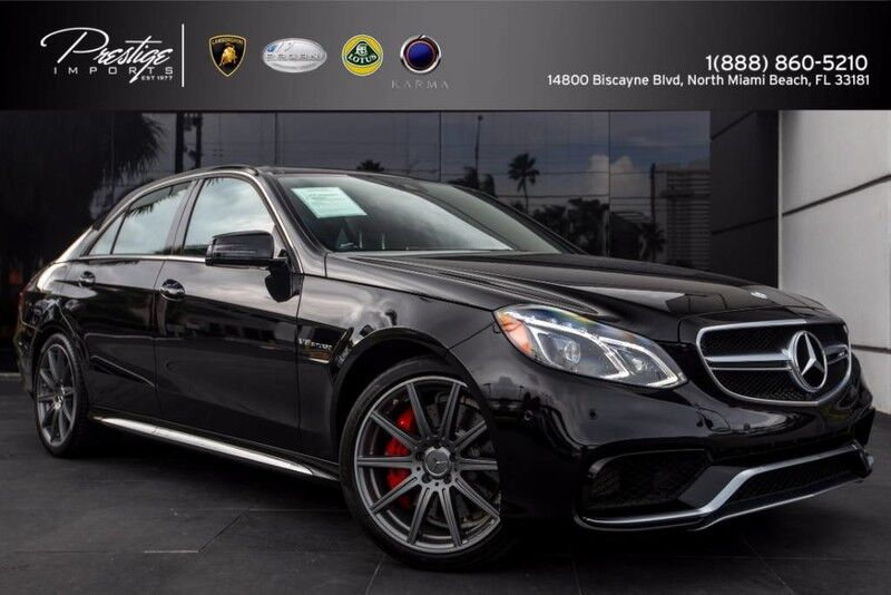 2016 mercedes benz e class amg e 63 s north miami beach fl for Mercedes benz service miami