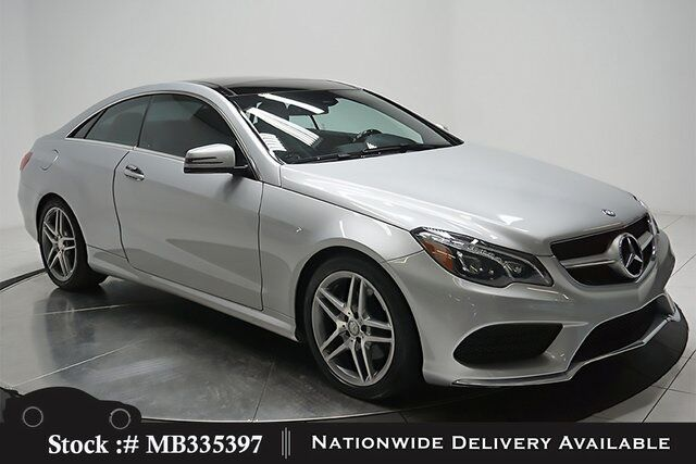 2016 Mercedes Benz E Cl 400 Coupe Amg Sport Lane Trck